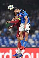 Jordan Henderson of Liverpool , Kostas Manolas of SSC Napoli <br /> Napoli 17-9-2019 Stadio San Paolo <br /> Football Champions League 2019/2020 <br /> SSC Napoli - Liverpool FC <br /> Photo Antonietta Baldassarre / Insidefoto
