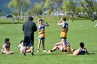 Touch Junior Hutt Valley Boys Division 1 Upper Hutt College 1 v St Bernard's 1 6/11/2012<br /> Photos by Masanori Udagawa<br /> www.photowellington.photoshelter.com