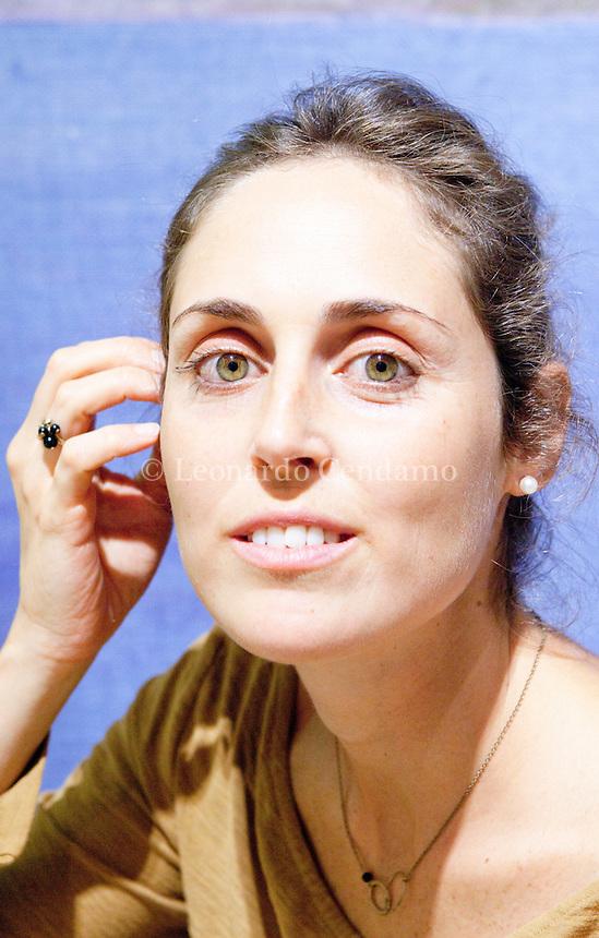 Novita Amadei, è una scrittrice italiana, è finalista dei cinque autori del Premio Internazionale Neri Pozza, la finane si svolgerà a Vicenza il 3 ottobre 2013. Milano, 12 settembre 2013. © Leonardo Cendamo