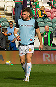30th September 2017, Welford Road, Leicester, England; Aviva Premiership rugby, Leicester Tigers versus Exeter Chiefs;  Exeter's Will Chudley  during warm-up