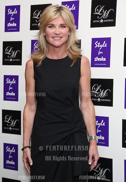 Anthea Turner arriving for the Style for Stroke Party, 5 Cavendish Square, London. 02/10/2012 Picture by: Henry Harris  / Featureflash