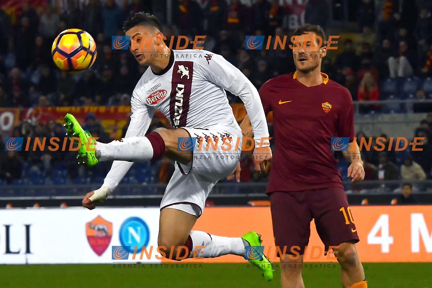 Antonio Barreca Torino, Francesco Totti Roma <br /> Roma 18-02-2017 Stadio Olimpico Football Calcio Serie A 2016/2017 <br /> AS Roma - Torino Foto Andrea Staccioli / Insidefoto