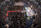 May 18, 2013; Entrance procession at the 2013 Commencement Mass...Photo by Matt Cashore/University of Notre Dame
