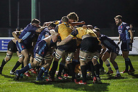 Ealing Trailfinders score during the Championship Cup match between London Scottish Football Club and Ealing Trailfinders at Richmond Athletic Ground, Richmond, United Kingdom on 23 November 2018. Photo by David Horn/PRiME Media Images
