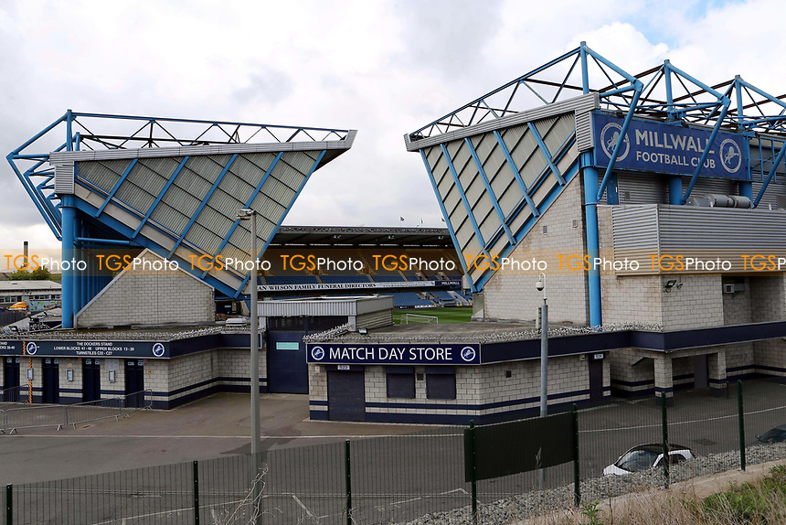 General view of Millwall FC from outside the ground during Millwall vs Oxford United, Sky Bet EFL League 1 Football at The Den on 22nd April 2017