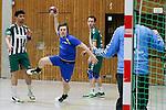 Neviges Wagner, Christian No7 mit einem starken Spiel, hier mit einem Sprungwurf im Spiel Niederbergischer HC - Team CDG/GW Wuppertal.<br /> <br /> Foto &copy; P-I-X.org *** Foto ist honorarpflichtig! *** Auf Anfrage in hoeherer Qualitaet/Aufloesung. Belegexemplar erbeten. Veroeffentlichung ausschliesslich fuer journalistisch-publizistische Zwecke. For editorial use only.