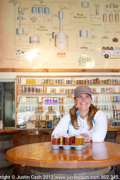Long Trail Brewery, Bridgewater, Vermont. 2011