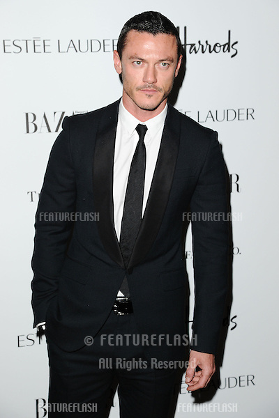 Luke Evans arriving for the Harper's Bazaar Women of the Year Awards 2012 at Claridge's Hotel, London. 31/10/2012 Picture by: Steve Vas / Featureflash