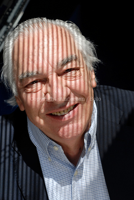 Didier Decoin, French writer.