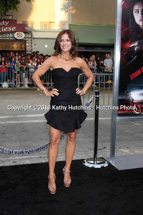 "LOS ANGELES - AUG 26:  Rebecca Budig at the ""Getaway"" Premiere at the Village Theater on August 26, 2013 in Westwood, CA"