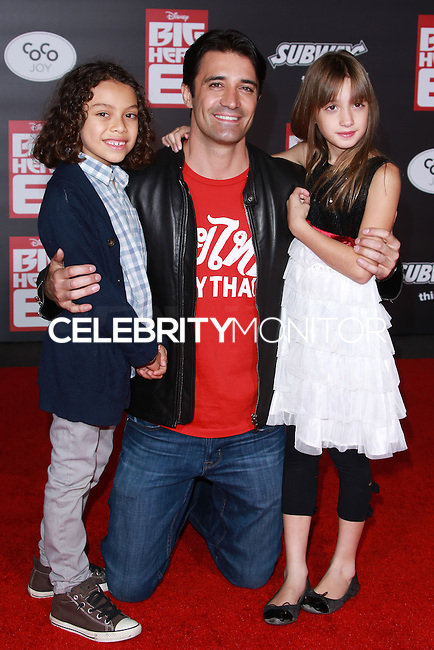 HOLLYWOOD, LOS ANGELES, CA, USA - NOVEMBER 04: Gilles Marini arrives at the Los Angeles Premiere Of Disney's 'Big Hero 6' held at the El Capitan Theatre on November 4, 2014 in Hollywood, Los Angeles, California, United States. (Photo by David Acosta/Celebrity Monitor)
