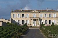 Vineyard. Chateau Branaire Ducru, Saint Julien. Medoc, Bordeaux, France