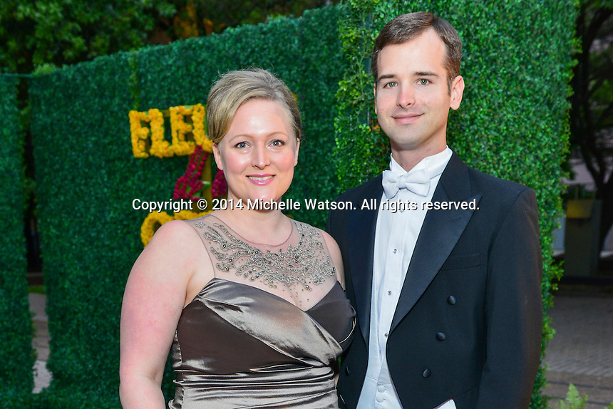 "Houston Grand Opera Ball ""Fleurs de l'Opera"" at Wortham Theatre"