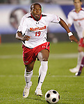 14 November 2008: Maryland's Matt Oduaran. The University of Maryland defeated Boston College 1-0 at WakeMed Stadium at WakeMed Soccer Park in Cary, NC in a men's ACC tournament semifinal game.