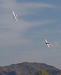 A photograph taken during the National Championship Air Races in Reno, Nevada on Thursday, September 14, 2017.