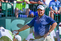 Shane Lowry (IRL) waits to tee off on 1 during Saturday's round 3 of the 117th U.S. Open, at Erin Hills, Erin, Wisconsin. 6/17/2017.<br /> Picture: Golffile | Ken Murray<br /> <br /> <br /> All photo usage must carry mandatory copyright credit (&copy; Golffile | Ken Murray)