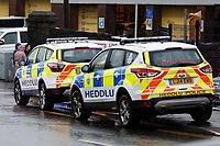 2019 12 12 Crash at railway bridge in the Hafod area of Swansea, Wales, UK
