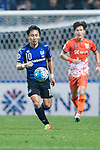 Gamba Osaka Midfielder Kurata Shu in action during the AFC Champions League 2017 Group H match Between Jeju United FC (KOR) vs Gamba Osaka (JPN) at the Jeju World Cup Stadium on 09 May 2017 in Jeju, South Korea. Photo by Marcio Rodrigo Machado / Power Sport Images
