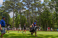 Sarah Jane Smith (AUS) and Ariya Jutanugarn (THA) head down 3 during round 4 of the U.S. Women's Open Championship, Shoal Creek Country Club, at Birmingham, Alabama, USA. 6/3/2018.<br /> Picture: Golffile | Ken Murray<br /> <br /> All photo usage must carry mandatory copyright credit (&copy; Golffile | Ken Murray)