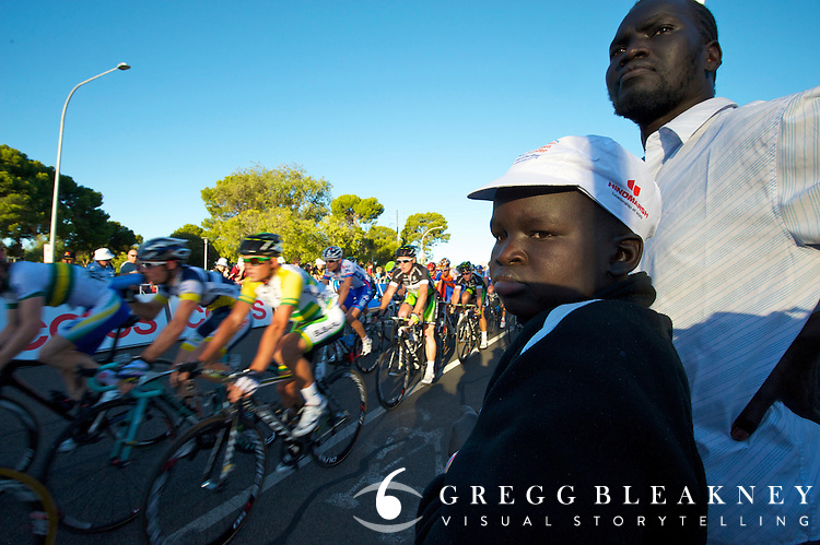 Spectators - 2012 Santos Tour Down Under - Adelaide