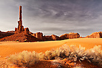 Totem Pole in Monument Valley