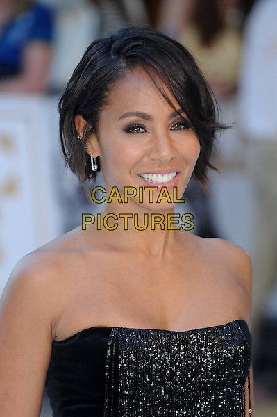 LONDON, ENGLAND - JUNE 30: Jada Pinkett-Smith attends the European Premiere of Magic Mike XXL at Vue West End on June 30, 2015 in London, England.<br /> CAP/BEL<br /> &copy;Tom Belcher/Capital Pictures
