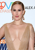 BEVERLY HILLS, CA - APRIL 20:  Rumer Willis at the Race to Erase MS 25th Anniversary Gala at the Beverly Hilton on April 20, 2018 in Beverly Hills, California. (Photo by Scott KirklandPictureGroup)