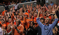 Virginia Cavalier fans during the game against North Carolina in Charlottesville, Va. North Carolina defeated Virginia 54-51.