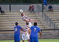 STANFORD, CA - September 12, 2012: Stanford midfielder JJ Koval (2) during the Stanford vs San Jose St. men's soccer match in Stanford, California. Final score, Stanford 2, San Jose St. 1 in overtime.