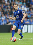 Leicester's Andy King in action during the Barclays Premier League match at the King Power Stadium.  Photo credit should read: David Klein/Sportimage