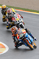 11.11.2012 SPAIN GP Generali de la Comunitat Valenciana Moto 3  Race. The picture show