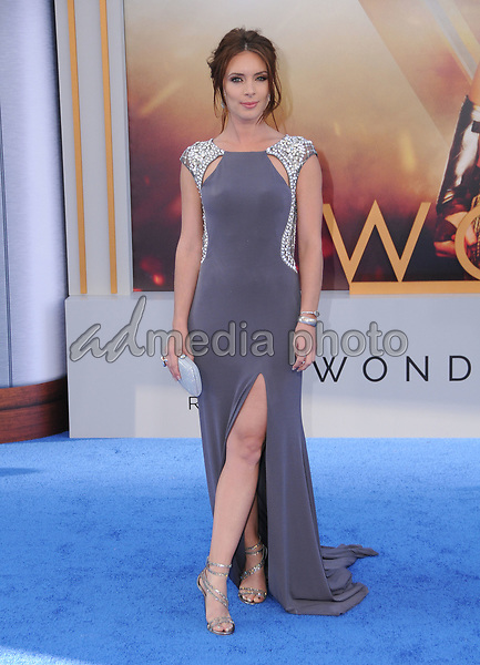"25 May 2017 - Hollywood, California - Amy Pemberton. World  Premiere of Warner Bros. Pictures'  ""Wonder Woman"" held at The Pantages Theater in Hollywood. Photo Credit: Birdie Thompson/AdMedia"
