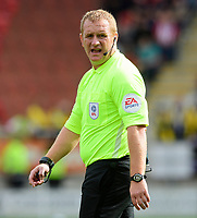 Referee Lee Swabey<br /> <br /> Photographer Chris Vaughan/CameraSport<br /> <br /> The EFL Sky Bet Championship - Rotherham United v Lincoln City - Saturday 10th August 2019 - New York Stadium - Rotherham<br /> <br /> World Copyright © 2019 CameraSport. All rights reserved. 43 Linden Ave. Countesthorpe. Leicester. England. LE8 5PG - Tel: +44 (0) 116 277 4147 - admin@camerasport.com - www.camerasport.com