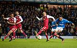 20.02.2020 Rangers v SC Braga: Joe Aribo scores goal no 2