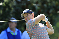 David Lingmerth (SWE) tees off the 15th tee during Thursday's Round 1 of the 2017 PGA Championship held at Quail Hollow Golf Club, Charlotte, North Carolina, USA. 10th August 2017.<br /> Picture: Eoin Clarke | Golffile<br /> <br /> <br /> All photos usage must carry mandatory copyright credit (&copy; Golffile | Eoin Clarke)