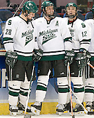 Daniel Vukovic, Corey Potter, David Booth - The University of Maine Black Bears defeated the Michigan State University Spartans 5-4 on Sunday, March 26, 2006, in the NCAA East Regional Final at the Pepsi Arena in Albany, New York.