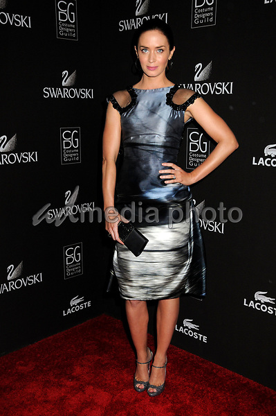 25 February 2010 - Beverly Hills, California - Emily Blunt. 12th Annual Costume Designers Guild Awards held at the Beverly Hilton Hotel. Photo Credit: Byron Purvis/AdMedia