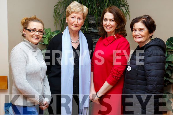 Chloe Moynihan, Cllr. Mairead Fernane, Marie O'Connell and Mary Shanahan in attendance at the Kerry Hospice Foundation's AGM in UHK on Monday night.