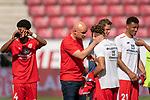 Jeremiah St. Juste (FSV Mainz 05 #04), Rouven Schröder / Schroeder (Vorstand Sport 1. FSV Mainz 05), Karim Onisiwo (FSV Mainz 05 #21), nach dem Sieg<br /> <br /> <br /> Sport: nphgm001: Fussball: 1. Bundesliga: Saison 19/20: 33. Spieltag: 1. FSV Mainz 05 vs SV Werder Bremen 20.06.2020<br /> <br /> Foto: gumzmedia/nordphoto/POOL <br /> <br /> DFL regulations prohibit any use of photographs as image sequences and/or quasi-video.<br /> EDITORIAL USE ONLY<br /> National and international News-Agencies OUT.