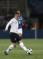 International friendly football match France vs Italy, Allianz Riviera, Nice, France, June 1, 2018. <br /> France's Antoine Griezmann in action during the international friendly football match between France and Italy at the Allianz Riviera in Nice on June 1, 2018.<br /> UPDATE IMAGES PRESS/Isabella Bonotto