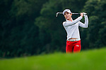 Char-Young Kim of Korea in action during the Hyundai China Ladies Open 2014 on December 10 2014 at Mission Hills Shenzhen, in Shenzhen, China. Photo by Li Man Yuen / Power Sport Images