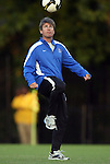 11 October 2009: Duke head coach John Kerr. The Duke University Blue Devils defeated the University of North Carolina Greensboro Spartans 3-0 at Koskinen Stadium in Durham, North Carolina in an NCAA Division I Men's college soccer game.