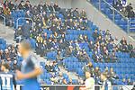 Leere Tribuenen / freie Plaetze im Stadion / in der Arena beim Spiel in der Fussball Bundesliga, TSG 1899 Hoffenheim - VfL Wolfsburg.<br /> <br /> Foto &copy; PIX-Sportfotos *** Foto ist honorarpflichtig! *** Auf Anfrage in hoeherer Qualitaet/Aufloesung. Belegexemplar erbeten. Veroeffentlichung ausschliesslich fuer journalistisch-publizistische Zwecke. For editorial use only.