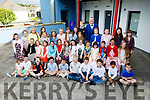 Ray O'Sullivan with all his pupils at the Drama class Graduation in Killarney School of Music on Friday evening