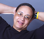 Joye Brown photographed in the Newsday Studio in Melville on Tuesday August 9, 2005. (Newsday Photo / Jim Peppler).
