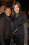 Toni Smith and Shelita Jourdain at the spring Simon Fashion Now event at The Galleria Thursday March 12, 2009. (Dave Rossman/For the Chronicle)