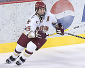 Stephen Gionta - The Boston College Eagles and Ferris State Bulldogs tied at 3 in the opening game of the Denver Cup on Friday, December 30, 2005, at Magness Arena in Denver, Colorado.  Boston College won the shootout to determine which team would advance to the Final.