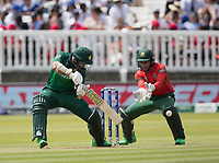 Imam-ul-Haq (Pakistan) cuts backward of point during Pakistan vs Bangladesh, ICC World Cup Cricket at Lord's Cricket Ground on 5th July 2019
