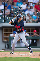 Bobby Dalbec (24) of the US Collegiate National Team at bat against the Cuban National Team at BB&T BallPark on July 4, 2015 in Charlotte, North Carolina.  The United State Collegiate National Team defeated the Cuban National Team 11-1.  (Brian Westerholt/Four Seam Images)