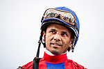 JUNE 06: Jose Lezcano after the Tremont Stakes at Belmont Park in Elmont, New York on June 06, 2019. Evers/Eclipse Sportswire/CSM